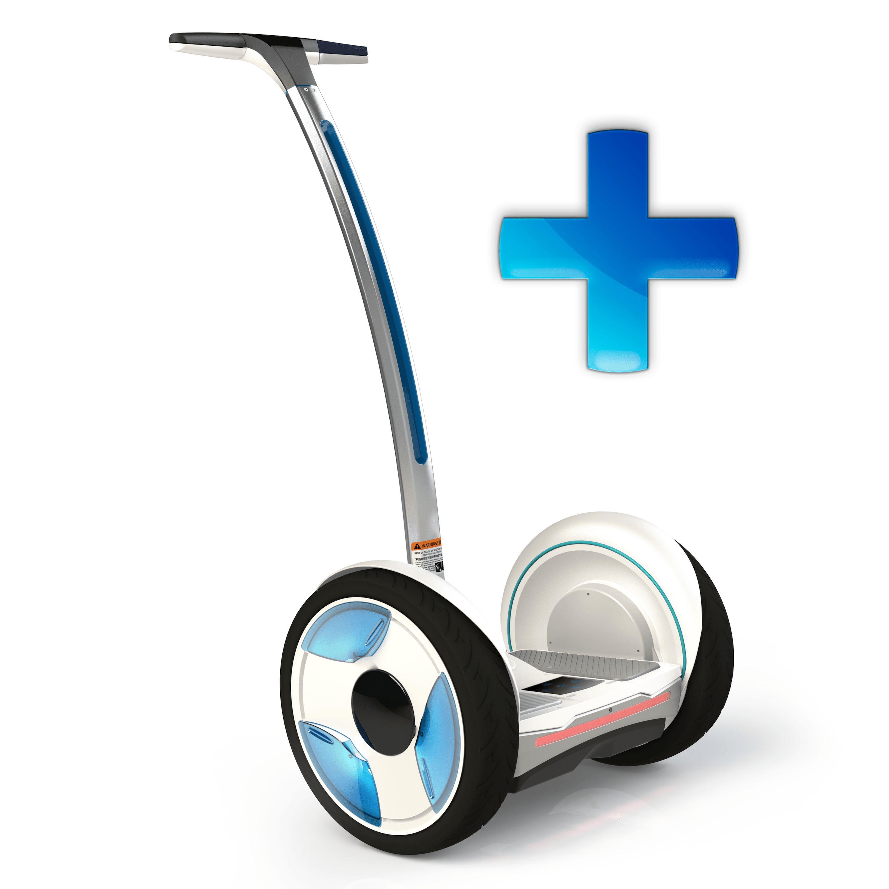 Segway Ninebot ELITE PLUS, battery 620Wh.